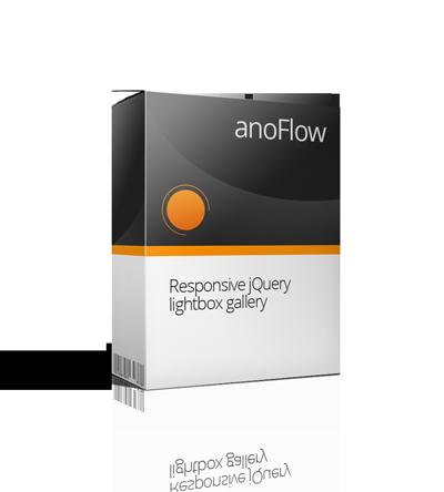 anoFlow - Responsive jQuery lightbox gallery